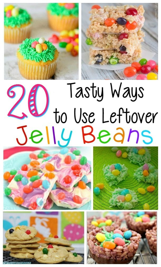 Recipes Using Jelly Beans, Jelly Beans, Easter Recipes with Jelly Beans