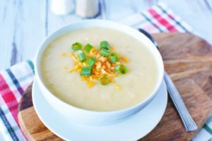 Slow Cooker Potato Soup Made With Tater Tots – Perfect For Leftovers!