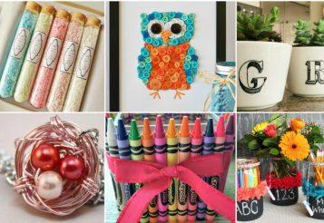 25 Teacher Appreciation Gifts – Special Handmade DIY Teacher Gifts
