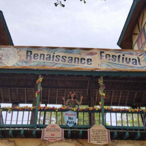 Georgia Renaissance Festival entrance