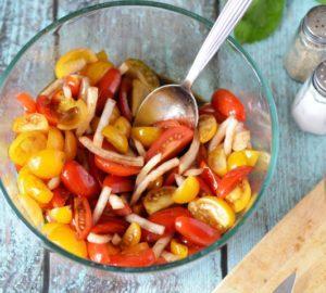 paleo basil salad