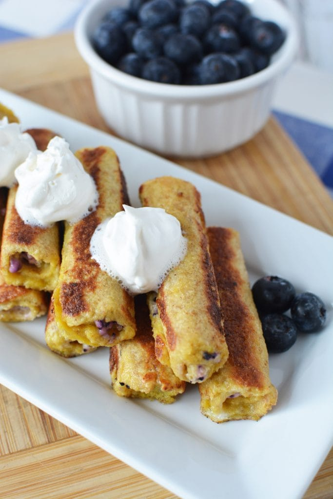 Blueberry French Toast, French Toast, Blueberry & Cream Cheese Roll Ups, Recipes Using Blueberries, French Toast Recipes