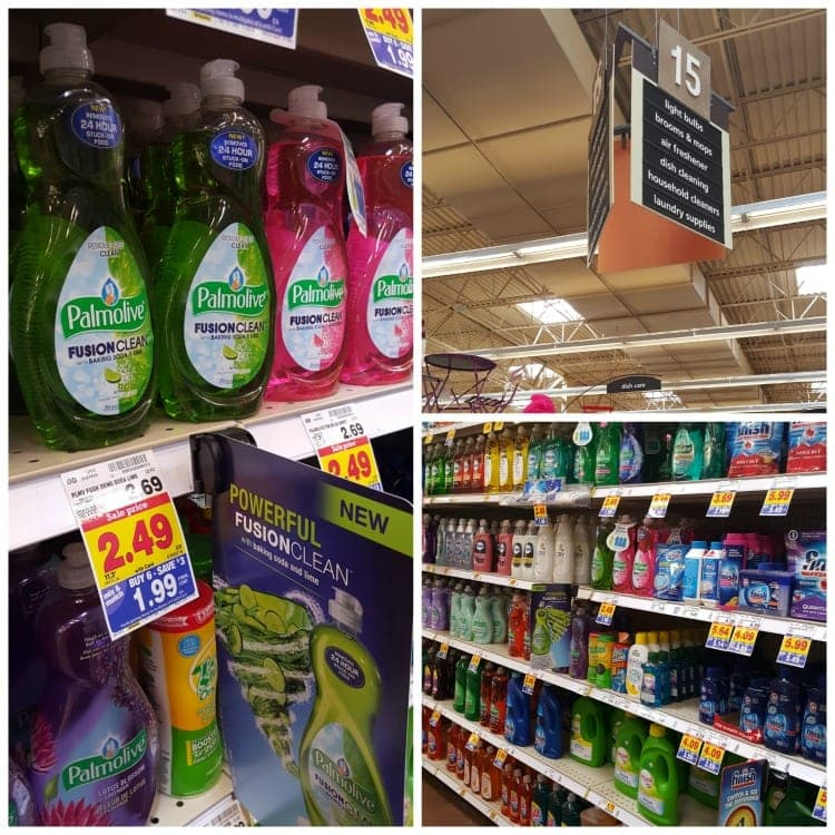 NEW Palmolive® Fusion Clean™ at Kroger