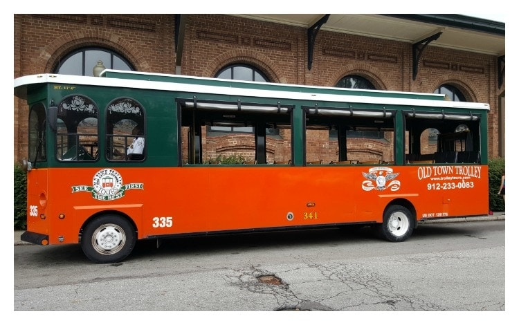 Old Town Trolley Savannah, Old Town Trolley, Things To Do in Savannah, Savannah Getaway