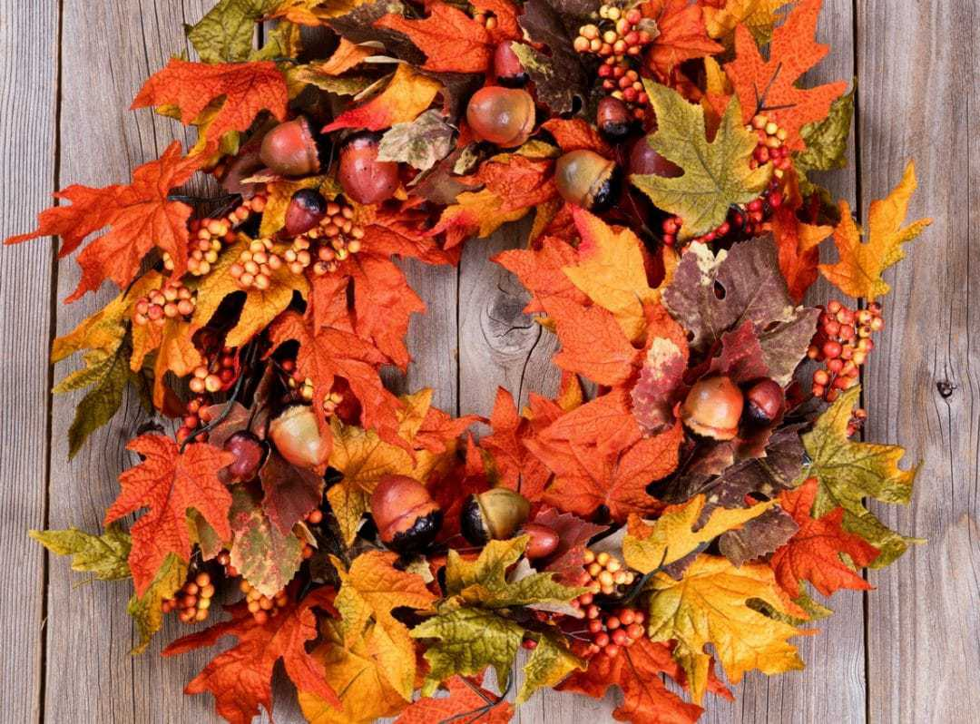 Fall Wreaths for Front Porch - Seasonal - Halloween - Thanksgiving