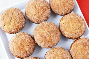 Homemade Apple Cinnamon Oat Muffins – Made With Delicious Red Apples