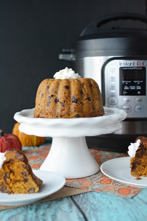 Pumpkin Chocolate Chip Cake