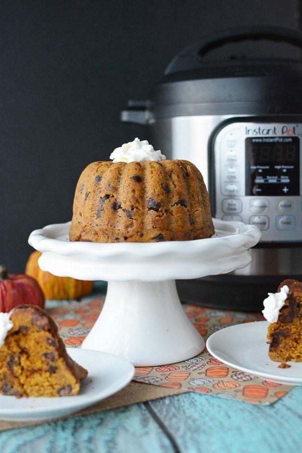 Instant Pot Desserts, Instant Pot Chocolate Chip Cake