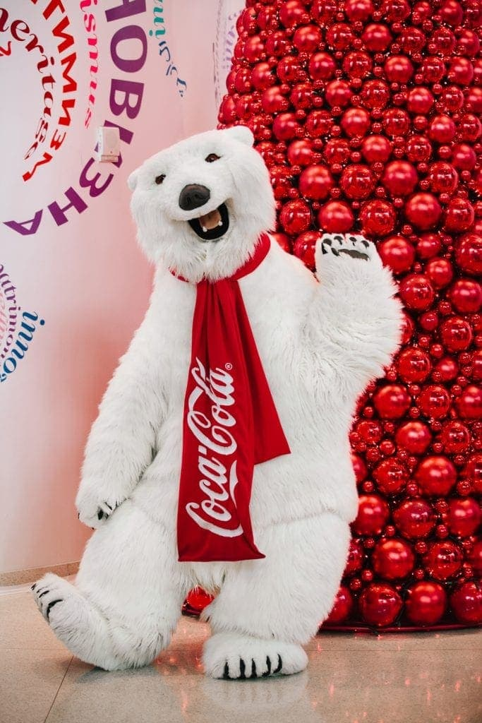 World of Coca-Cola Polar Bear
