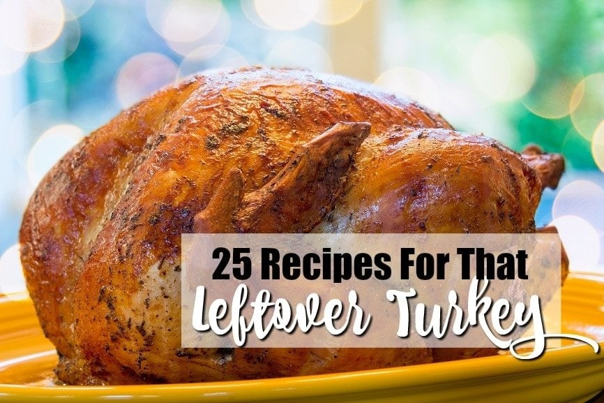 25 Recipes For That Leftover Turkey