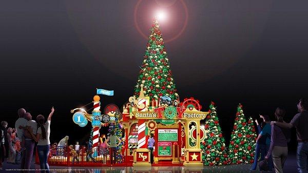 Christmas, Santa at North Point, Santa's Toy Factory