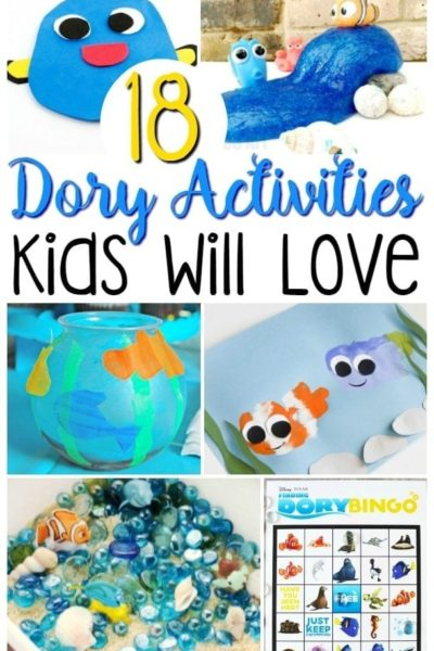 Finding Dory Crafts For Kids