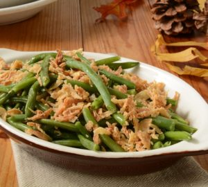 Green Bean Casserole for Thanksgiving