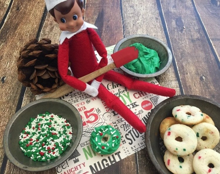 elf-on-the-shelf-donut-recipe