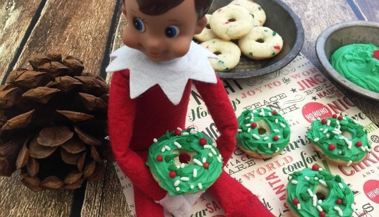 Elf on the Shelf Donuts