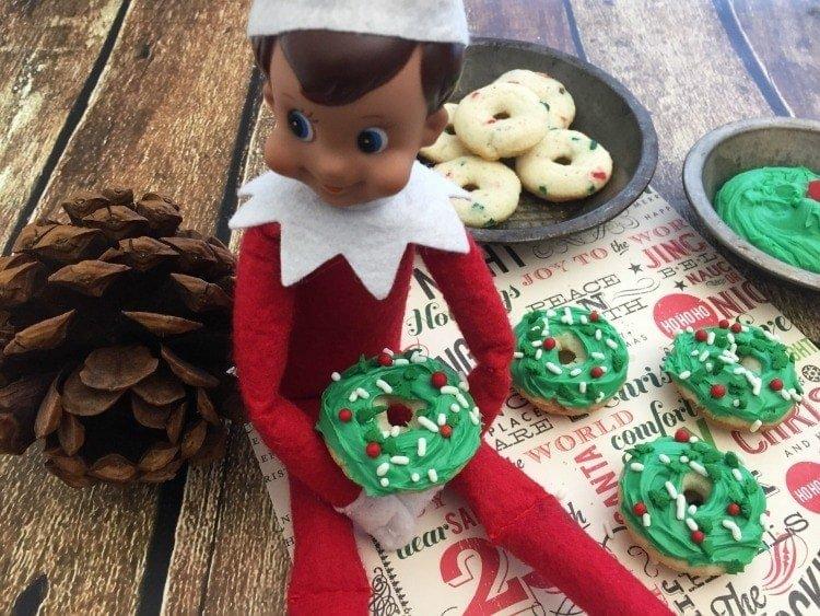 Elf On The Shelf Donut Recipe