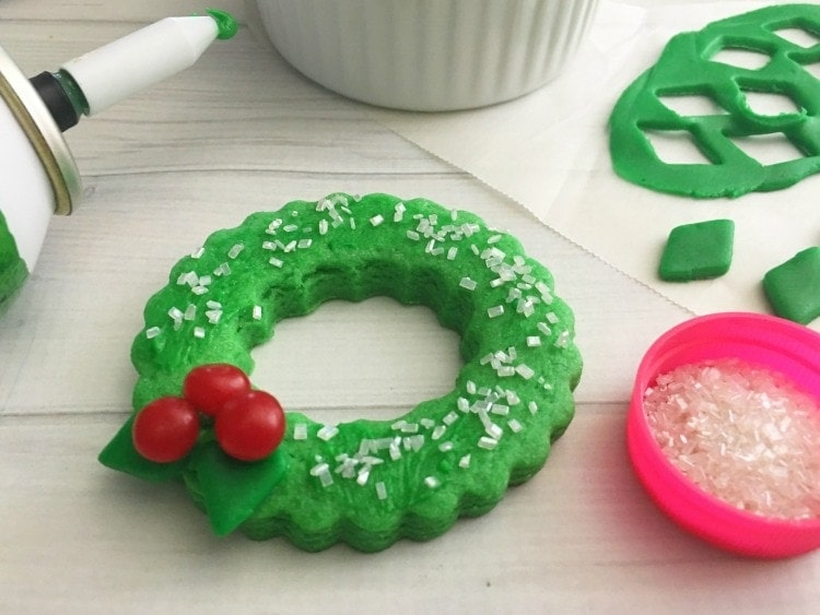 Wreath Christmas Cookies