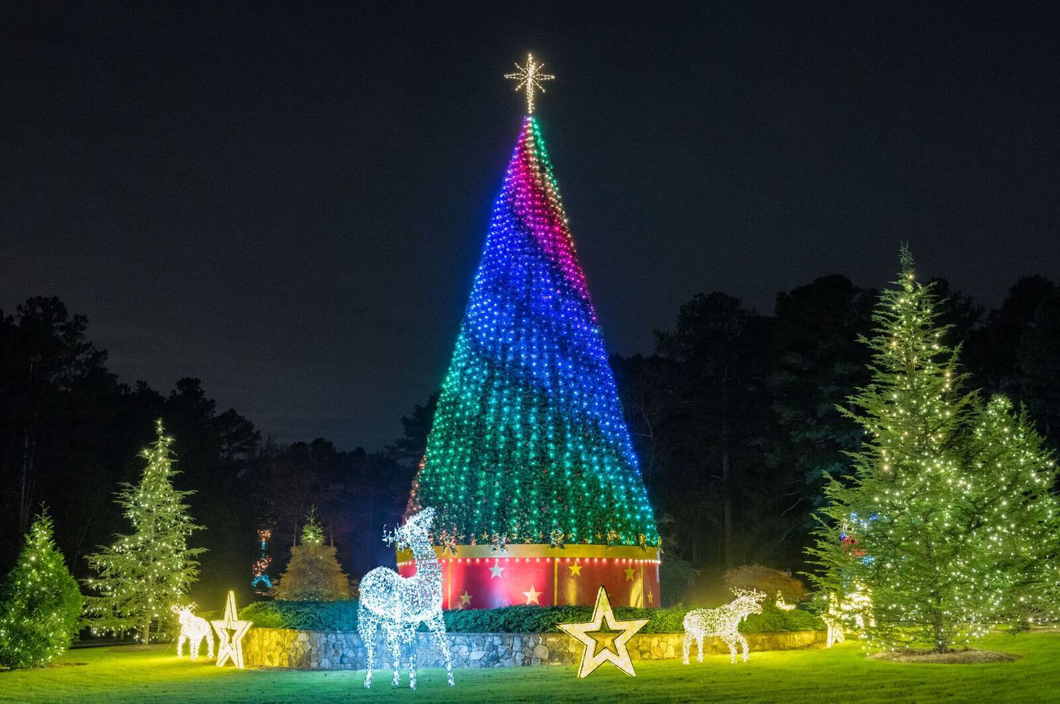 Lanier Islands: A Magical Night of Spectacular Lights