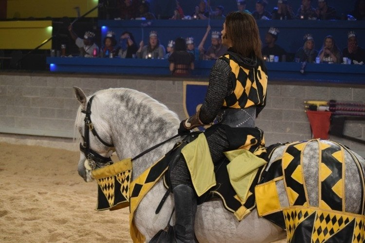 Yellow Knight Medieval Times