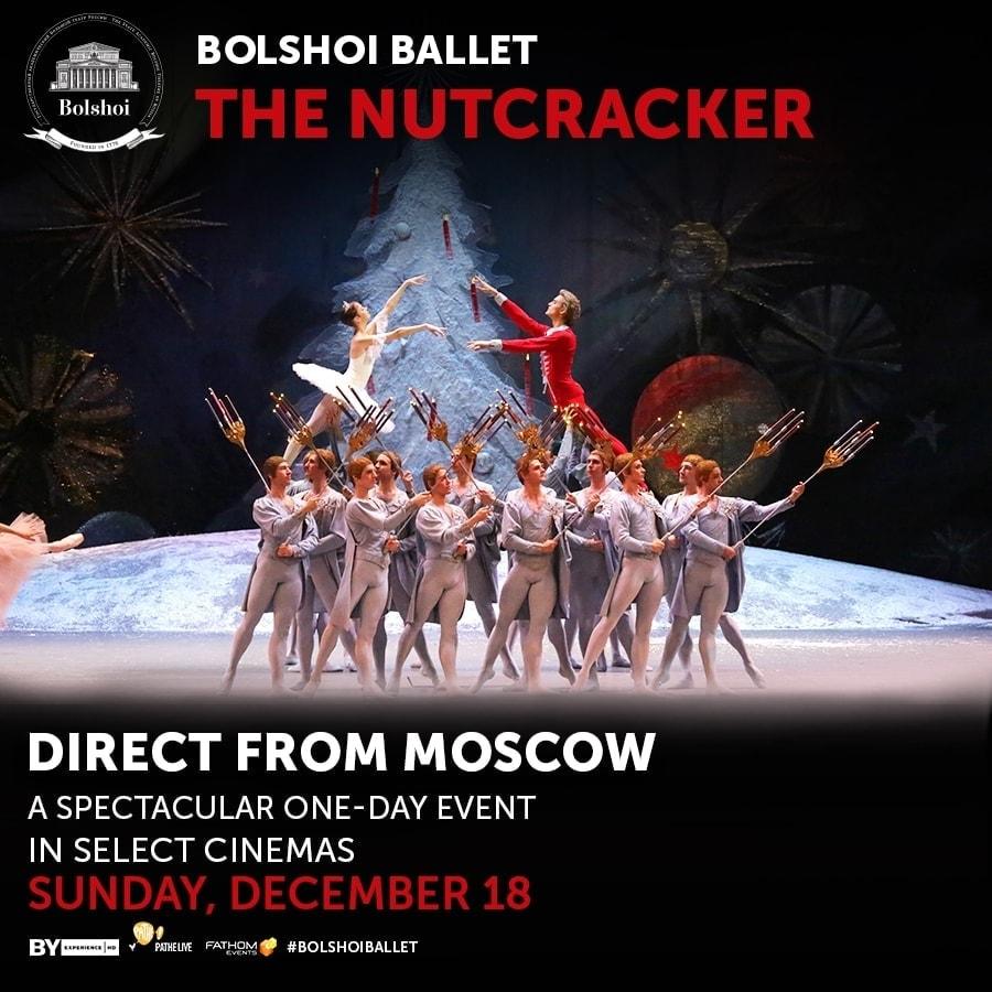 Bolshoi Ballet The Nutcracker + Giveaway