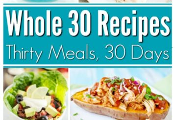 Whole30 Recipes: 30 Days of Delicious Whole 30 Recipes To Keep You On Track