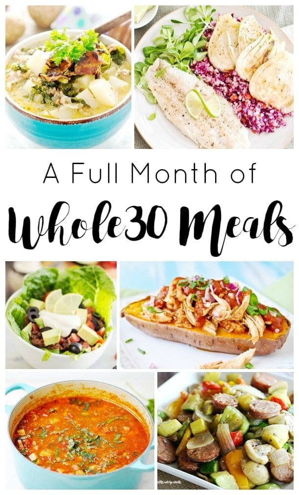 A Full Month of Delicious Whole 30 Recipes