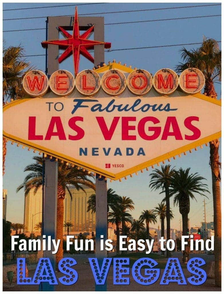 Family Fun is Easy to Find in Las Vegas