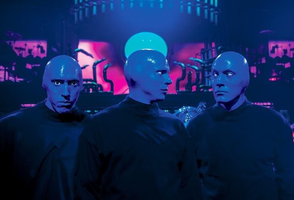 Blue man Group in Vegas