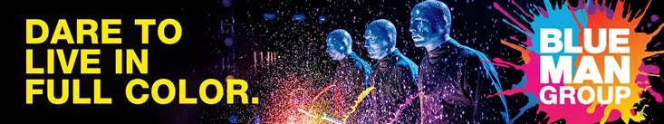 Blue man group at luxor hotel and casino a sensory adventure - Blue man group box office ...