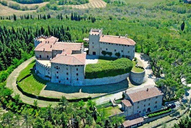 Castle Olive Mill, Moraiolo in Montegabbione (Italy)