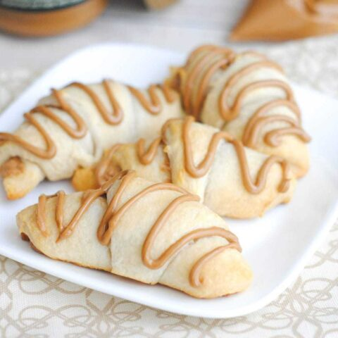 Cookie Butter Crescent Rolls, Quick Breakfast Ideas, Recipes Using Cookie Butter