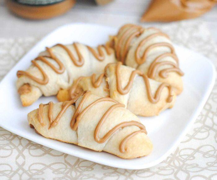 Cookie Butter Crescent Rolls, Quick Breakfast Ideas, Recipes Using Cookie Butter