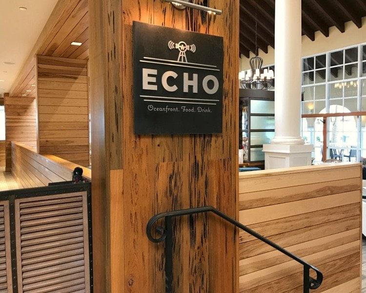 Echo Restaurant St Simons Island