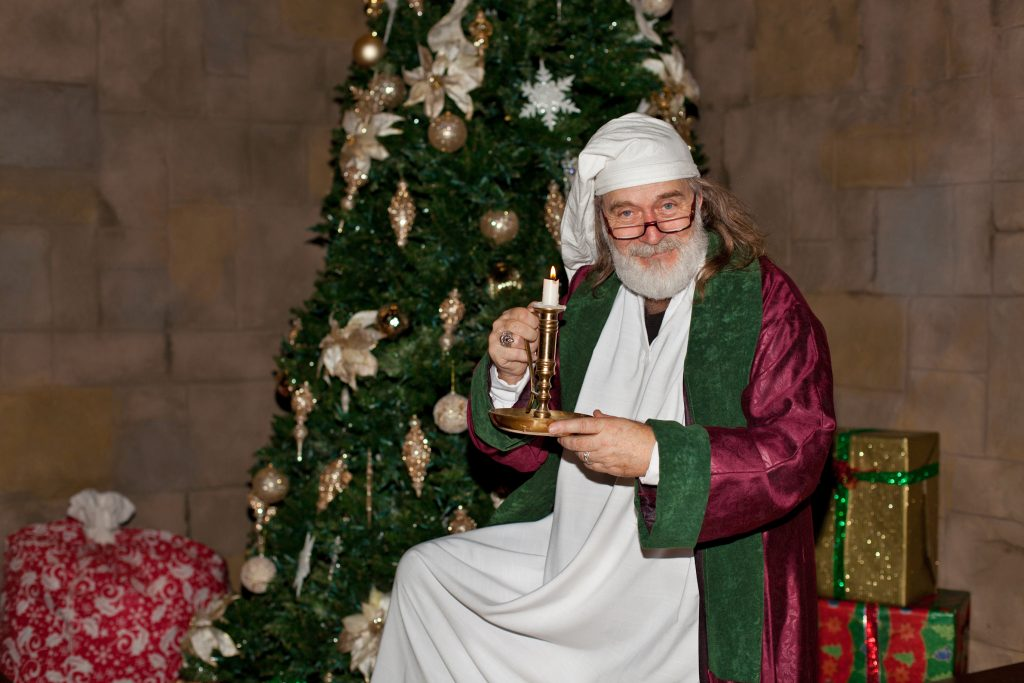 Father Christmas at Medieval Times