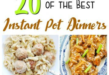 20+ Instant Pot Recipes – Delicious & Easy Dinners Prepared In No Time