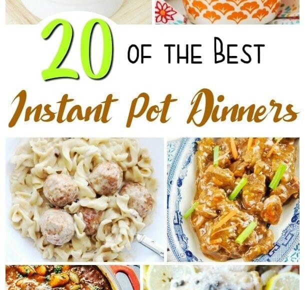 Delicious Instant Pot Dinner Recipes