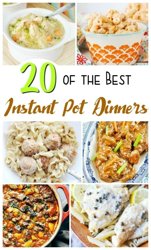 20 instant pot recipes delicious easy dinners prepared in no time 20 instant pot recipes delicious easy dinners prepared in no time forumfinder Gallery