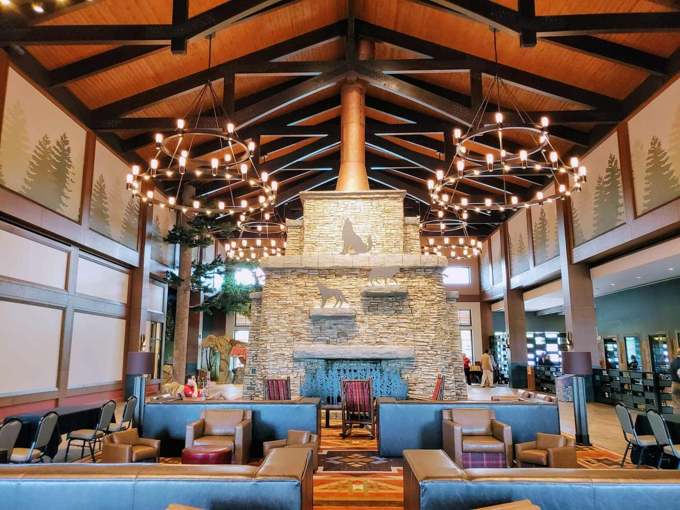 Great Wolf Lodge Lobby in La Grange