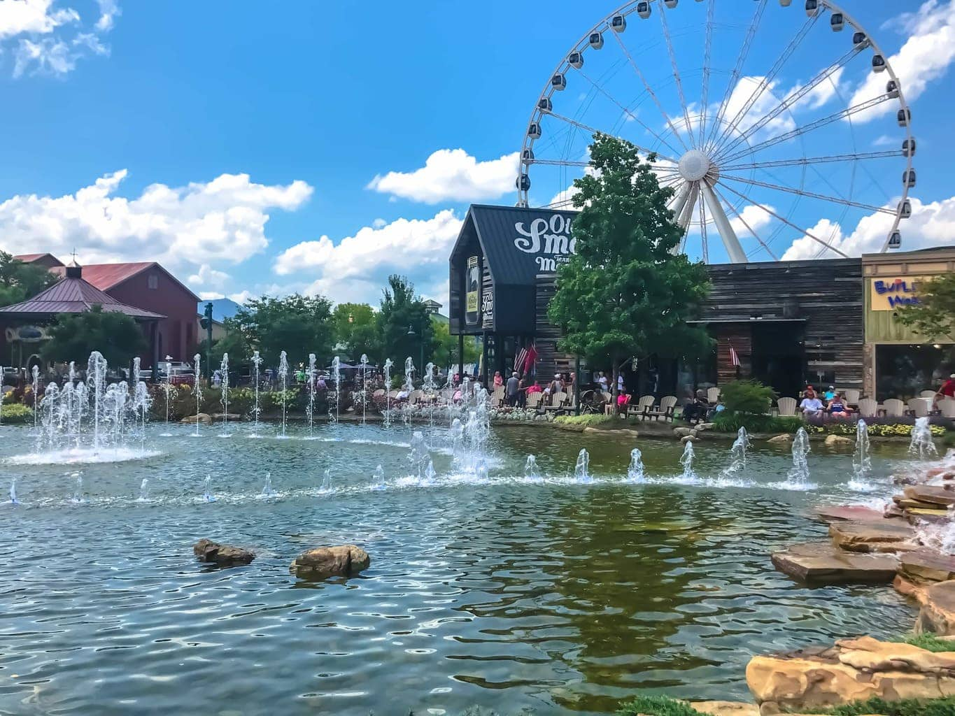 island of pigeon forge