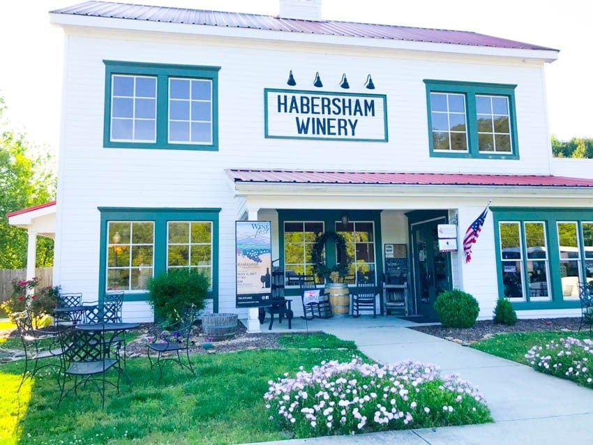 habersham winery in helen ga, blue ridge ga wine tours, wine tours of georgia