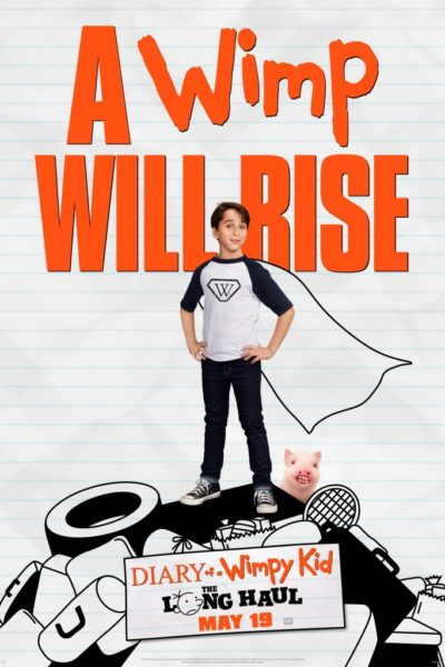 Diary of A Wimpy Kid: The Long Haul Movie Promotion