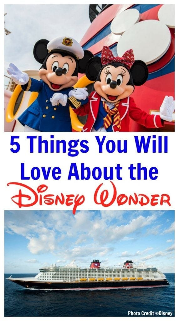 Our family loves a Disney vacation, especially a Disney Cruise! Here are five things we loved about the Disney Wonder. #DSMMC #DisneyCruise #Disney https://www.southernfamilyfun.com/5-things-you-will-love-about-disney-wonder-cuise/