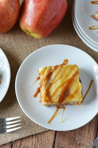 Easy Caramel Apple Cream Cheese Cake – Perfect for Fall