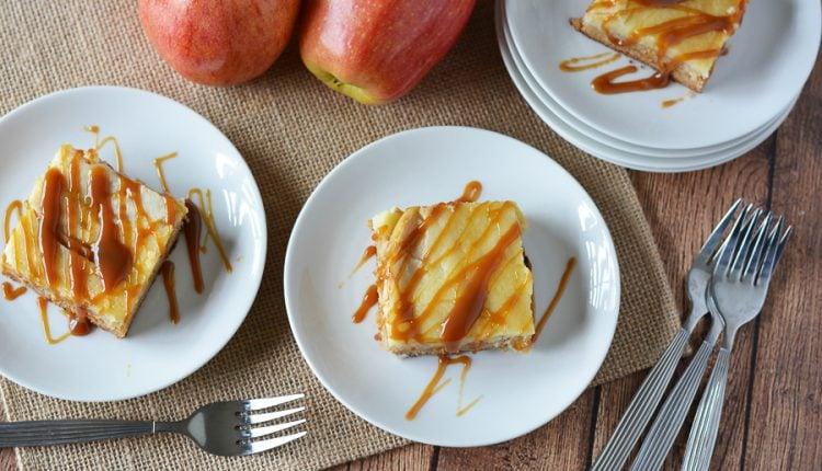 Caramel Apple Cream Cheese Cake