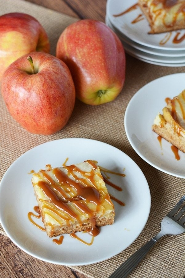 This easy Caramel Apple Cream Cheese Cake Recipe is so amazing that, if you decide to make it, people will think that you slaved over it in the kitchen. https://www.southernfamilyfun.com/caramel-apple-cream-cheese-cake/