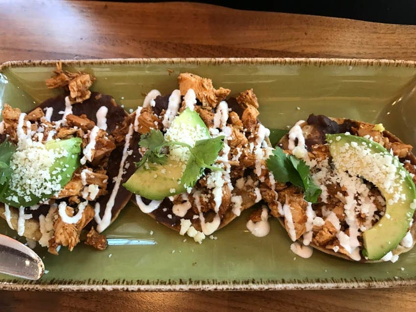 Menu Items at Frontera Cocina