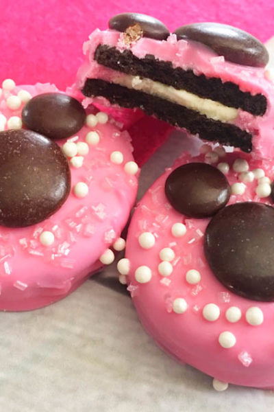 Minnie Mouse Cookies for Birthday Party