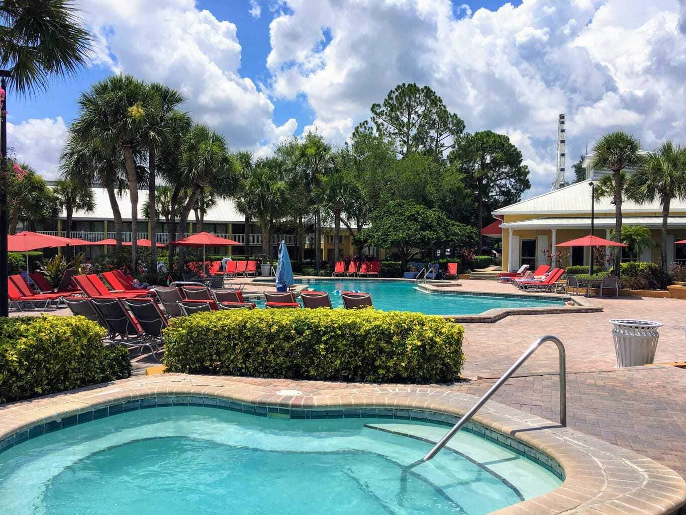 Oasis Style Pool located at Wyndham International Drive Orlando