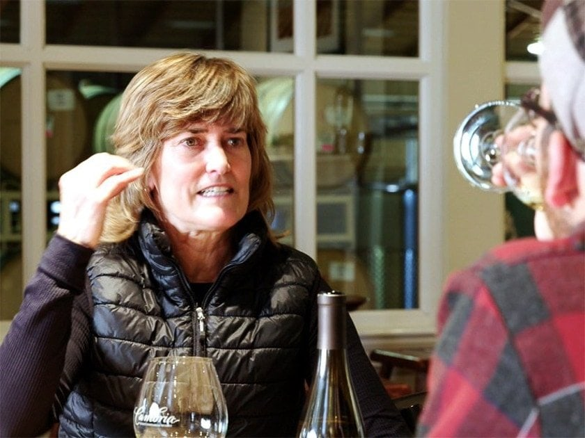 Denise Shurtleff, Cambria's Head Wine Maker