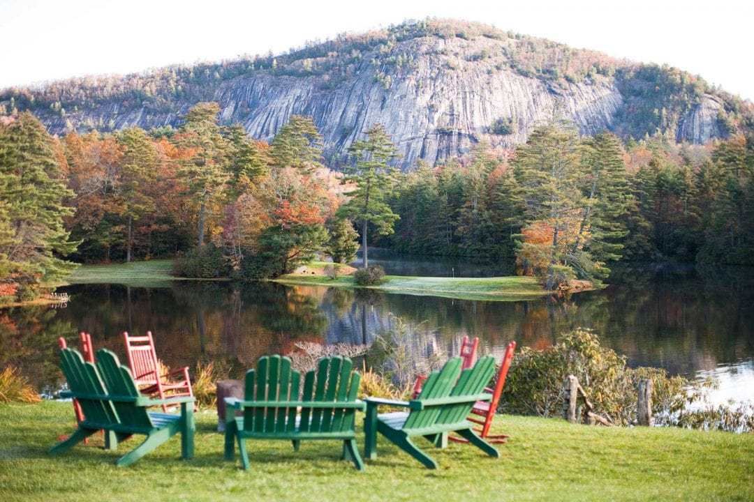Create your own fall mountain experience at High Hampton Resort